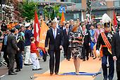 Willem Alexander en Maxima op provinciebezoek in Gelderland en Utrecht