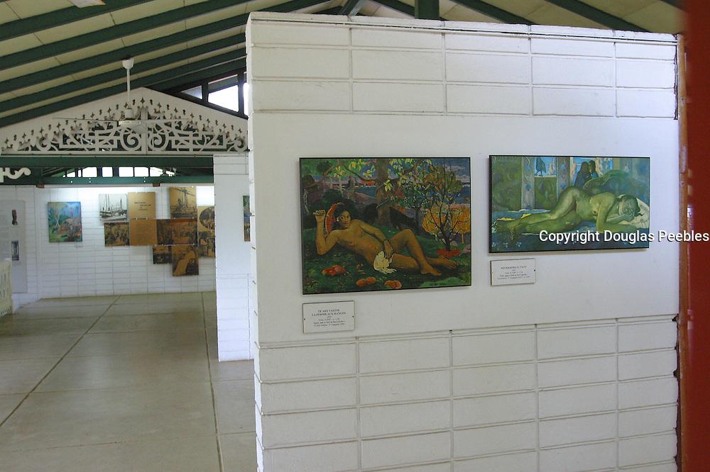 Gauguin Museum and Gardens, Island of Tahiti, French Polynesia<br />