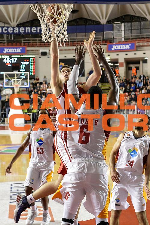 DESCRIZIONE : Campionato 2014/15 Virtus Acea Roma - Giorgio Tesi Group Pistoia<br /> GIOCATORE : <br /> CATEGORIA : Tiro Penetrazione<br /> SQUADRA : Giorgio Tesi Group Pistoia<br /> EVENTO : LegaBasket Serie A Beko 2014/2015<br /> GARA : Dinamo Banco di Sardegna Sassari - Giorgio Tesi Group Pistoia<br /> DATA : 22/03/2015<br /> SPORT : Pallacanestro <br /> AUTORE : Agenzia Ciamillo-Castoria/GiulioCiamillo<br /> Predefinita :