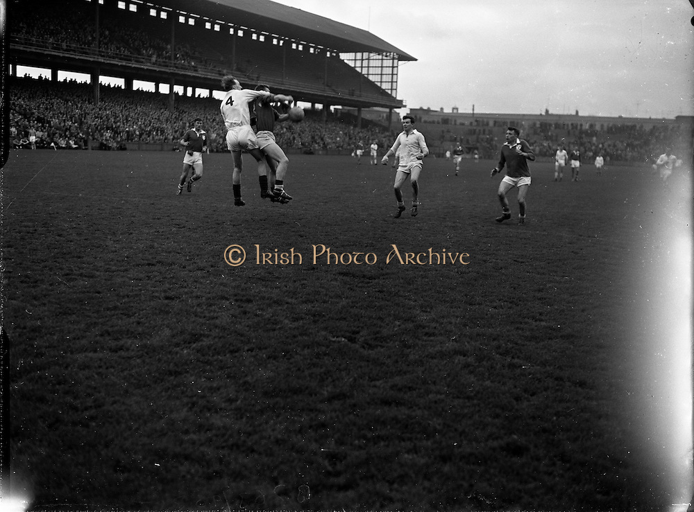 Railway Cup.1961..12.03.1961..03.12.1961..12th March 1961..Leinster vs Connacht..Image shows some of the action between Leinster and Connacht at GAA Headquarters, Croke park.