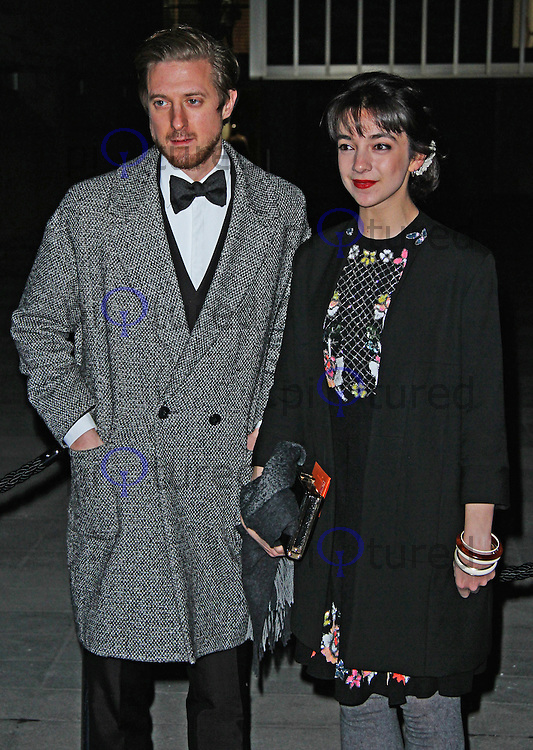 Arthur Darvill & Patsy Ferran, Fast Forward - NT Fundraising Gala, National Theatre, London UK, 04 March 2015, Photo By Brett D. Cove