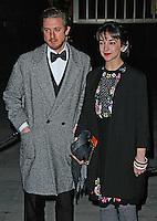 Arthur Darvill & Patsy Ferran, Fast Forward - NT Fundraising Gala, National Theatre, London UK, 04 March 2015, Photo By Brett D. Cove
