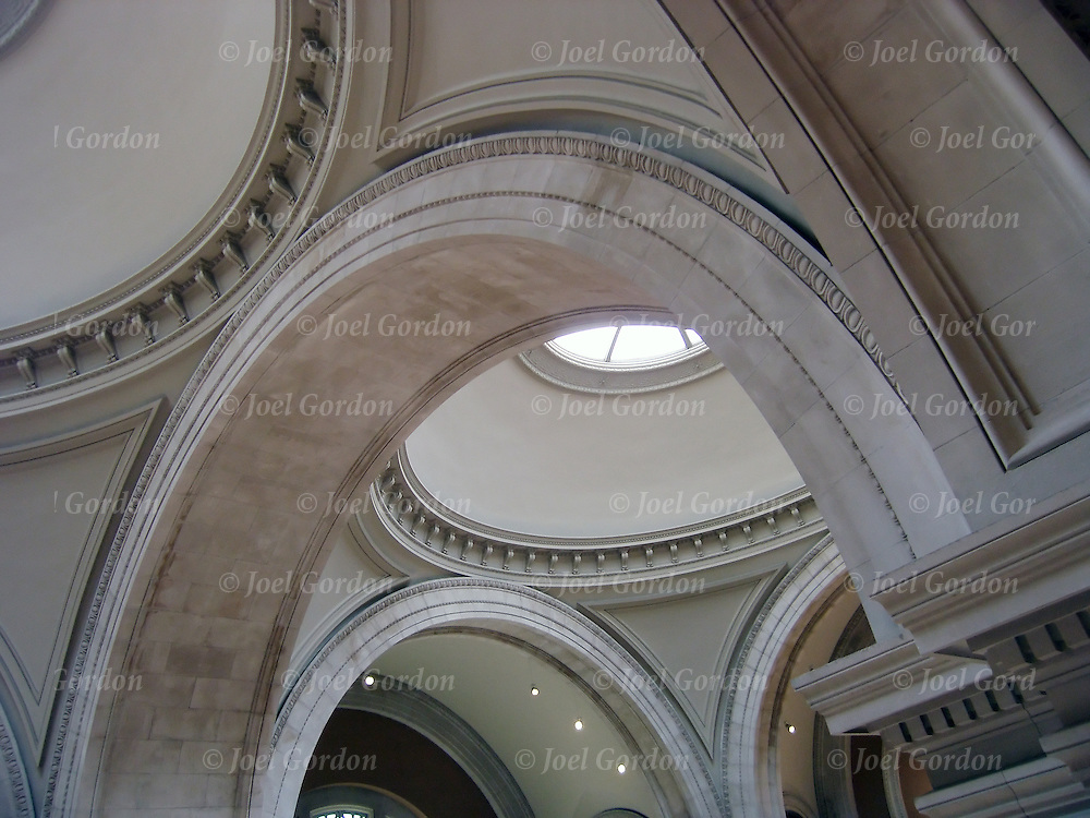 Great Hall in the MET, curves in Architectural Curves
