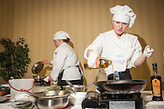 The Xanterra Culinary Competition at the 2009 Wyoming Hospitality Student Invitational.