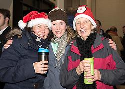 Festive supporters at Ashton Gate Stadium - Mandatory by-line: Paul Knight/JMP - 22/12/2017 - RUGBY - Ashton Gate Stadium - Bristol, England - Bristol Rugby v Cornish Pirates - Greene King IPA Championship