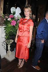 MICKEY SUMNER at a party hosted by the Supper Club in honour of Mary Greenwell held at Beach Blanket Babylon, Ledbury Road, London on 25th June 2008.<br />