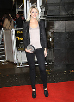 Ali Bastian The Rum Diary European Premiere, Odeon Cinema, Kensington, London, UK, 03 November 2011:  Contact: Rich@Piqtured.com +44(0)7941 079620 (Picture by Richard Goldschmidt)