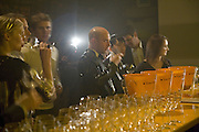 Mathias Wint and Sacha Leong, 130 Years Of Veuve Clicquot Yellow, The Wapping Project, Wapping Wall, London, E1,13 November 2007. -DO NOT ARCHIVE-© Copyright Photograph by Dafydd Jones. 248 Clapham Rd. London SW9 0PZ. Tel 0207 820 0771. www.dafjones.com.