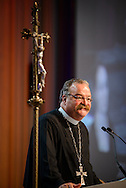 The Rev. Dr. Matthew C. Harrison, president of the LCMS, speaks Thursday, July 14, 2016, at the 66th Regular Convention of The Lutheran Church–Missouri Synod, in Milwaukee. LCMS/Michael Schuermann