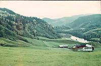 Farm at the outskirts of Trondheim, autumn 1967