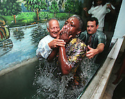 Church baptism in Havana