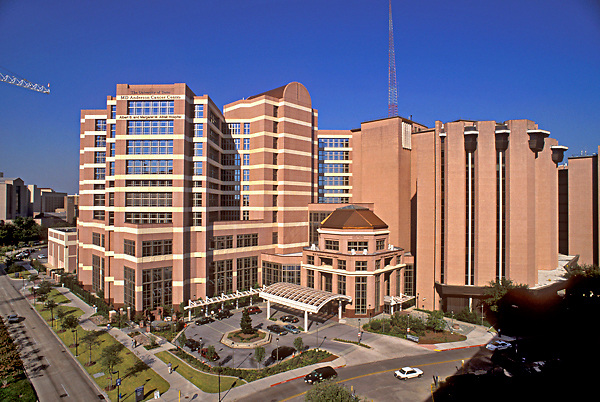 Stock photo of M.D. Anderson Cancer Center