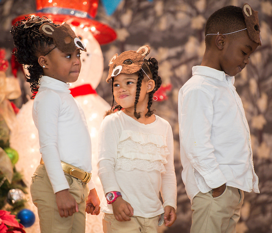 """Students at Fonwood Early Childhood Center perform """"A Winter Story"""", December 18, 2013."""