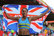 Shelayna OSKAN-CLARKE, winner of the Women's 800m Final during the Muller British Athletics Championships at Alexander Stadium, Birmingham, United Kingdom on 25 August 2019.