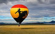 Best Buy Summit in Colorado Springs, CO.  Hot Air Balloon ride at South Park, Colorado.