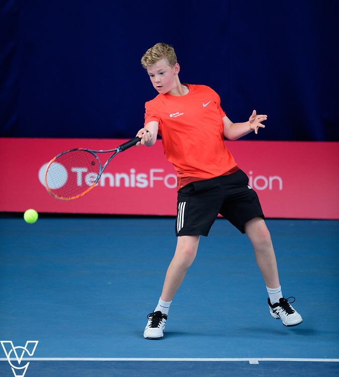 Team Tennis Schools National Championships Finals 2017 held at Nottingham Tennis Centre.  Bishop Stortford College<br /> <br /> Picture: Chris Vaughan Photography for the LTA<br /> Date: July 12, 2017