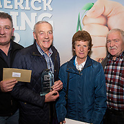 10.10. 2017. <br />  Pictured at the Limerick Going for Gold 2017 finals in the Strand Hotel were, Maurice Lynch, Liam Fahy, Mary Cronin and Patrick Kiely, Croom.<br />                          <br /> Limerick Going for Gold, which is sponsored by the JP McManus Charitable Foundation, has a total prize pool of over €75,000.  It is organised by Limerick City and County Council and supported by Limerick's Live 95FM, The Limerick Leader and The Limerick Chronicle, The Limerick Post, Parkway Shopping Centre, I Love Limerick and Southern Marketing Media & Design.<br /> . Picture: Alan Place