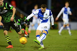 Billy Bodin of Bristol Rovers takes a shot at goal - Mandatory by-line: Dougie Allward/JMP - 23/12/2017 - FOOTBALL - Memorial Stadium - Bristol, England - Bristol Rovers v Doncaster Rovers - Skt Bet League One