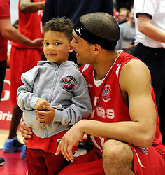 Bristol Flyers' Greg Streete  - Photo mandatory by-line: Joe Meredith/JMP - Mobile: 07966 386802 - 18/04/2015 - SPORT - Basketball - Bristol - SGS Wise Campus - Bristol Flyers v Leeds Force - British Basketball League