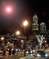 A walk through Boston's North End February 4, 2011.