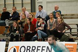20180110 NED: CEV CUP Sliedrecht Sport - Beziers Angels VB: Sliedrecht<br />Former Sliedrecht Sport players, Bianca Gommans, Rianne Lantinga, Mariska Koster, Celia Diemkoudre, Ilse Janssen, Esther van Berkel, Pamela Domselaar en Sanne Berculo<br />&copy;2018-FotoHoogendoorn.nl / Pim Waslander