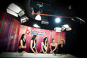 Every Thursday, MissLadyBoy.com performs a show about Katoey at Thai Vision Channel ..Kathoeys work in predominately female occupations, such as in shops, restaurants and beauty salons, but also in factories. Kathoeys also work in the entertainment sector and at tourist centers, cabarets. Kathoeys are more visible and more accepted in the Thai culture than transgender or transsexual people are in Western countries..This acceptance is due to the nature of the surrounding Buddhist culture, which places a high value on tolerance.