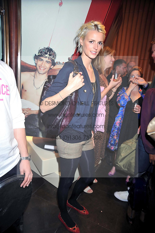 JACQUETTA WHEELER at a party to celebrate the launch of Romance by Chris Craymer - a book celebrating love, held at Mulberry, 41/42 New Bond Street, London W1 on 20th May 2009.