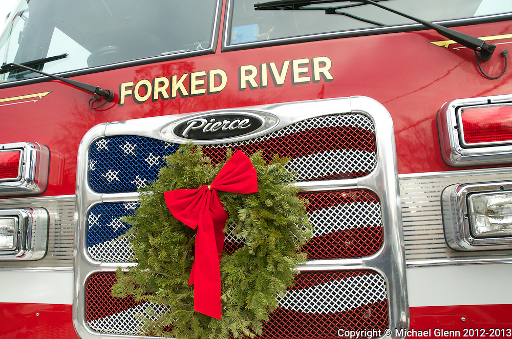 Forked River Ladder with wreath