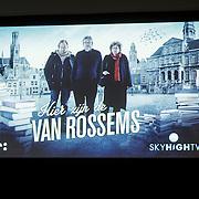NLD/Utrecht/20150129 - Perspresentatie Hier zijn de Van Rossems ,