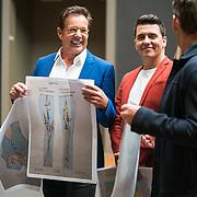 NLD/Amsterdam/20190507 - Toppers in het Rijksmuseum, Gerard Joling en Jan Smit