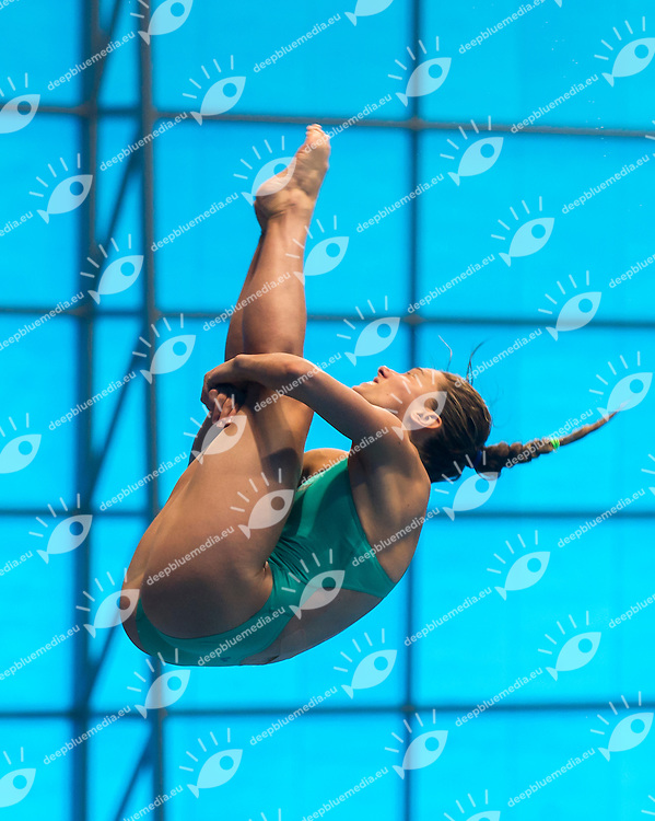 DALLAPE' Francesca ITA<br /> London, Queen Elizabeth II Olympic Park Pool <br /> LEN 2016 European Aquatics Elite Championships <br /> Diving<br /> Women's 3m springboard preliminary <br /> Day 06 14-05-2016<br /> Photo Giorgio Perottino/Deepbluemedia/Insidefoto