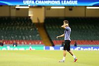 02.06.2017 - Cardiff - Finale di Champions League, allenamento e conferenza stampa di vigilia -  Juventus-Real Madrid nella  foto: Cristiano Ronaldo