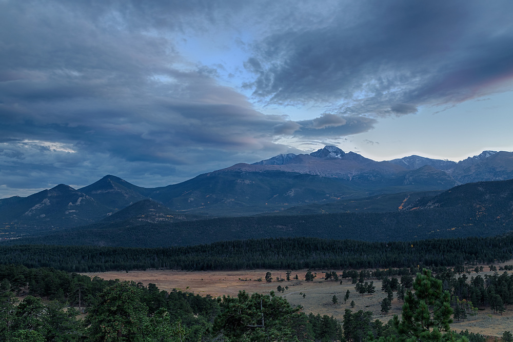 Longs Peak, Rocky Mountain National Park, Colorado
