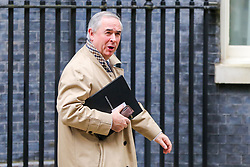 © Licensed to London News Pictures. 29/10/2019. London, UK. Attorney General GEOFFREY COX departs from No 10 Downing Street after attending the weekly cabinet meeting. Photo credit: Dinendra Haria/LNP