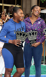 August 23, 2018 - New York City, New York, U.S. - Tennis player SERENA WILLIAMS and VENUS WILLIAMS attend the 2018 Lotte Palace Invitational Badminton Tournament held at the Lotte New York Palace. (Credit Image: © Nancy Kaszerman via ZUMA Wire)
