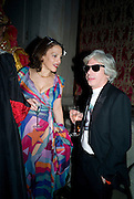 JANE PRESS; FRANCESCO DA MOSTO. Francesca Bortolotto Possati, Alessandro and Olimpia host Carnevale 2009. Venetian Red Passion. Palazzo Mocenigo. Venice. February 14 2009.  *** Local Caption *** -DO NOT ARCHIVE -Copyright Photograph by Dafydd Jones. 248 Clapham Rd. London SW9 0PZ. Tel 0207 820 0771. www.dafjones.com<br /> JANE PRESS; FRANCESCO DA MOSTO. Francesca Bortolotto Possati, Alessandro and Olimpia host Carnevale 2009. Venetian Red Passion. Palazzo Mocenigo. Venice. February 14 2009.