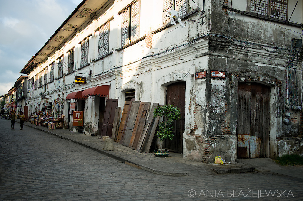 Architecture of Vigan.<br />