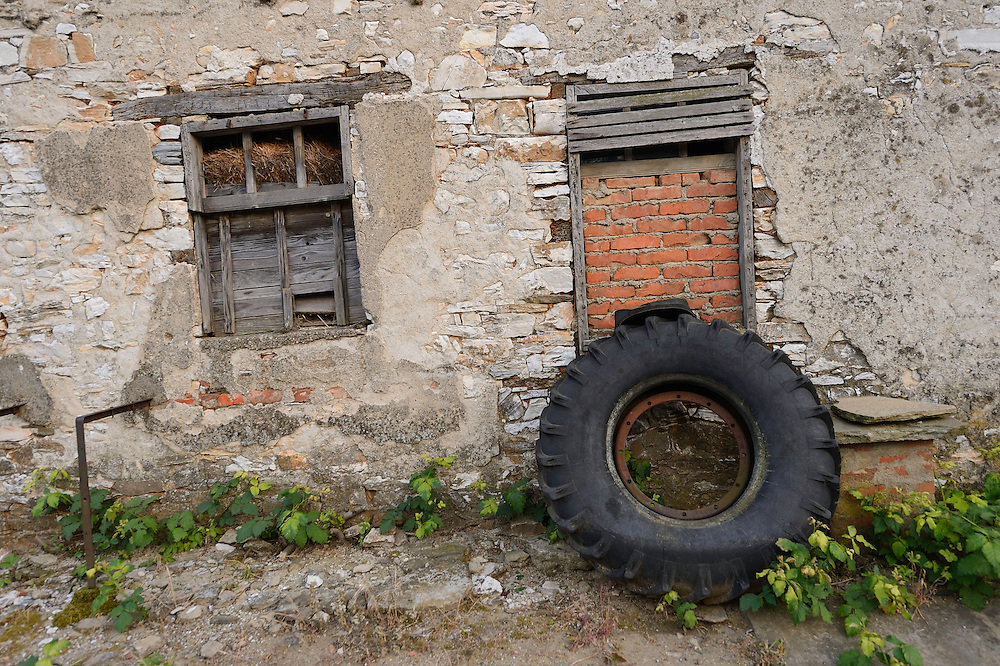 Land abandonment in Plevun, Eastern Rhodope mountains, Bulgaria