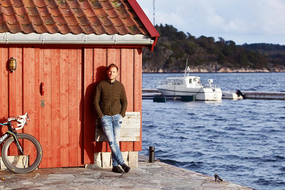 Grimstad, 20141128<br /> Thor Hushovd. Vi m&oslash;ter han i sitt hus i Grimstad som han bruker n&aring;r han er i Norge.<br /> Foto: Paul Paiewonsky / Dagbladet MAGASINET