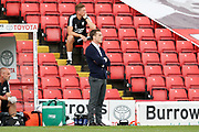 Scott Parker of Fulham during the EFL Sky Bet Championship match between Barnsley and Fulham at Oakwell, Barnsley, England on 3 August 2019.