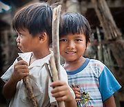 Two boy friends portrait (Vietnam)