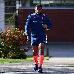 Jonathan Danty of France during the training session of  the France rugby team at Centre National de Rugby on March 14, 2017 in Marcoussis, France. (Photo by Dave Winter/Icon Sport)