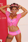 29.MAY.2012. LONDON<br /> <br /> KATIE PRICE LAUNCHES NEW LINGERIE AT A PHOTOCALL IN THE WORX STUDIO, FULHAM, LONDON<br /> <br /> BYLINE: JOE ALVAREZ/EDBIMAGEARCHIVE.CO.UK<br /> <br /> *THIS IMAGE IS STRICTLY FOR UK NEWSPAPERS AND MAGAZINES ONLY*<br /> *FOR WORLD WIDE SALES AND WEB USE PLEASE CONTACT EDBIMAGEARCHIVE - 0208 954 5968*