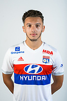Amine Gouiri during Photoshooting of Lyon for new season 2017/2018 on September 27, 2017 in Lyon, France. (Photo by Damien lg/OL/Icon Sport)