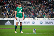 Jonathan Sexton (IRL) at penalty during the NatWest 6 Nations 2018 rugby union match between France and Ireland on February 3, 2018 at Stade de France in Saint-Denis, France - Photo Stephane Allaman / ProSportsImages / DPPI
