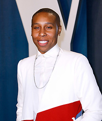 February 9, 2020, Beverly Hills, CA, USA: BEVERLY HILLS, CALIFORNIA - FEBRUARY 9: Lena Waithe attends the 2020 Vanity Fair Oscar Party at Wallis Annenberg Center for the Performing Arts on February 9, 2020 in Beverly Hills, California. Photo: CraSH/imageSPACE (Credit Image: © Imagespace via ZUMA Wire)