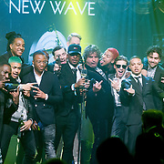 NLD/Amsterdam/20160321 - Edison Pop Awards 2016, Lil Kleine en New Wave winnen awards