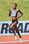 Mercy Cherono (KEN) places second in the women's 5,000m in 15:12.85 during IAAF Birmingham Diamond League meeting at Alexander Stadium on Sunday, June 5, 2016, in Birmingham, United Kingdom. Photo by Jiro Mochizuki