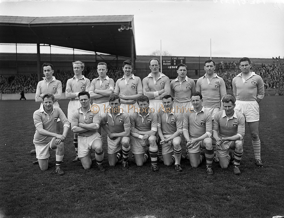 20/04/1958<br /> 04/20/1958<br /> 20 April 1958<br /> National Football League Semi -Final: Dublin v Mayo at Croke Park, Dublin. Dublin won the game. The Dublin team.