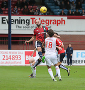 Dundee&rsquo;s Gary Harkins - Dundee v Ross County - Ladbrokes Premiership at Dens Park<br /> <br />  <br />  - &copy; David Young - www.davidyoungphoto.co.uk - email: davidyoungphoto@gmail.com